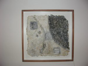 Stefano Graziano - Antichi Ricordi - carta riciclata  75x75