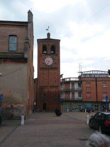 Campanile della chiesa di Massa Fiscaglia (FE)