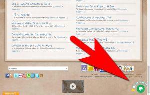Il pulsante che si vede sulla home page del nostro sito per la chat